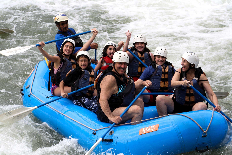 rapidos | rafting | descenso en rio de Jalcomulco Veracruz Mexico