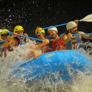 En mexico se practica el mejor rafting.