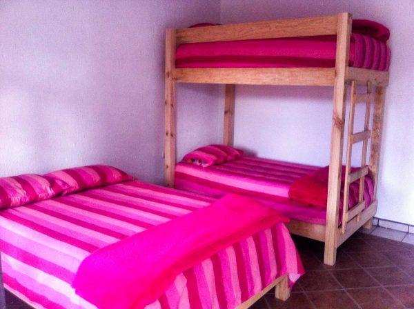Dormitorio Instalaciones Rivera del rio