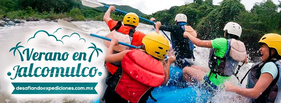 Vacaciones de verano 2018 con Rafting en Jalcomulco, Veracruz.