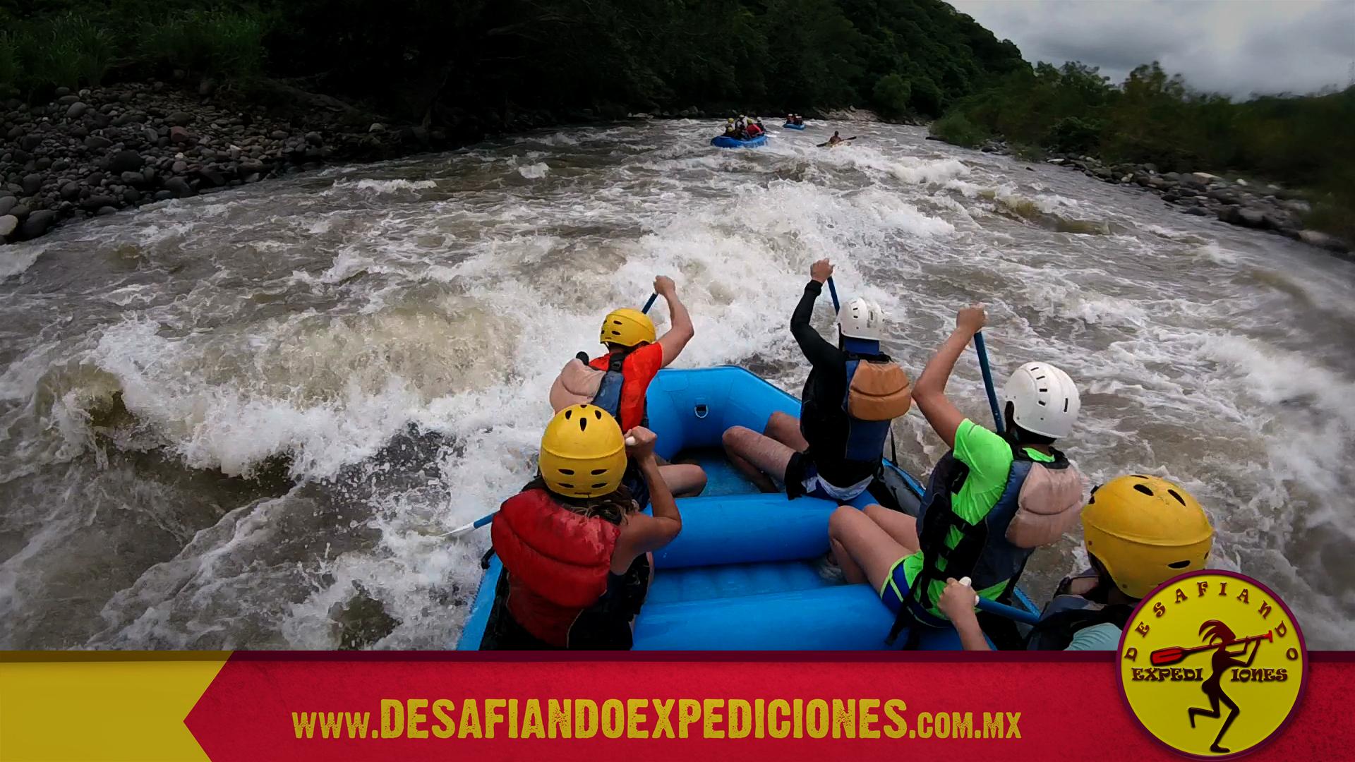 El mejor rafting de Veracruz