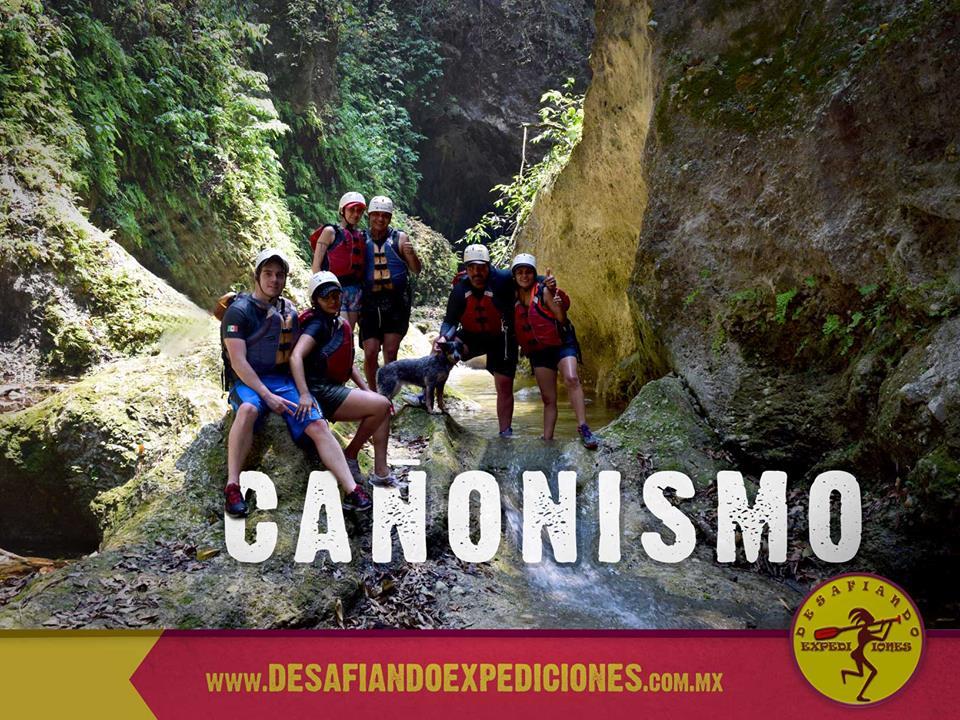"""Realiza cañonismo en Jalcomulco, Veracruz, Mexico. Conoce el """"Cañon de las Mariposas"""""""