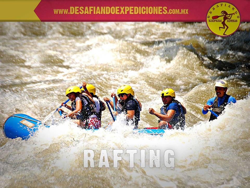 El mejor rafting de veracruz vivelo en familia con desafiando expediciones.